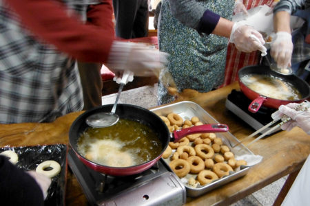 米粉を使った料理講習会